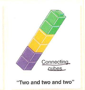 ... that you use two numbers to add or subtract, separate them by color
